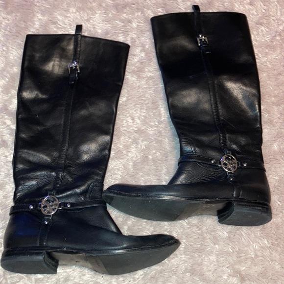 Coach black boots